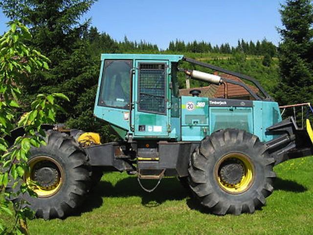 Timberjack 360,rok 1998 ciągnik leśny - Maszyny rolnicze - serwis