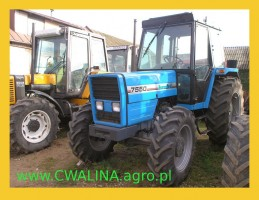 ciągnik rolniczy LANDINI 7550 traktor, TUR - opcja
