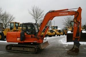 2008 Hitachi ZX 80-5