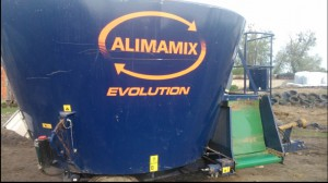 Wóz paszowy A-Lima-Bis Alimamix Evolution 9