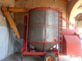 Suszarnia do zboża Pedrotti 12 ton traktor gwarancja serwis suszarni www.suszarnie.net.pl