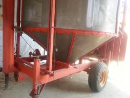 Suszarnia do zboża Pedrotti 22 tony traktor gwarancja serwis suszarni www.suszarnie.net.pl