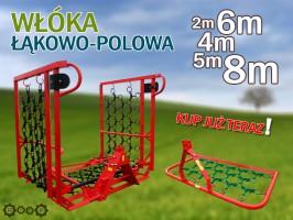 WŁÓKA ŁĄKOWO POLOWA BRONA 2m 4m 5m 6m 8m łąkowa łąkowo-polowa  PRODUCENT