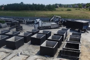 szamba zbiorniki betonowe na szambo deszczówkę eko szamba