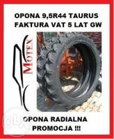 Opona 9,5R44 , 9,5-44 230/95R44 TAURUS RC95 Nowa! Gwarancja 5 Lat!