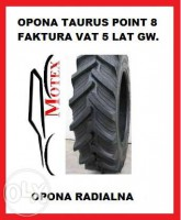 Opona 16,9R34 420/85R34 TAURUS POINT 8 POINT 8 - Grupa Michelin Nowa!