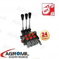 Rozdzielacz hydrauliczny 3 sekcyjny 40L