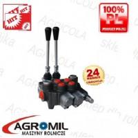 Rozdzielacz hydrauliczny 2 sekcyjny 80L