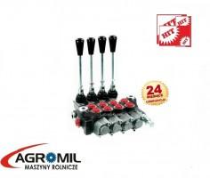 Rozdzielacz hydrauliczny 4 sekcyjny 40L