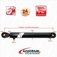 Cylinder hydrauliczny SKOK 400 L 680 tłok dwustronnego działania