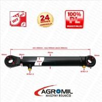 Cylinder hydrauliczny SKOK 200 L 430 tłok dwustronnego działania