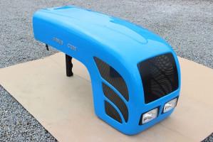 Maska ciągnikowa maska do ciągnika Ursus C360 C-360 niebieska