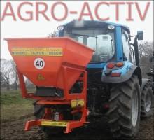 Rozsiewacz Nawozowo-Wapienny TAJFUN 600 L NOWY Dexwal Agro-Activ