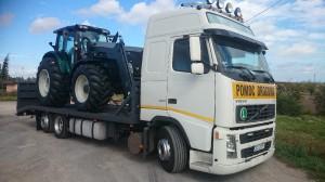Transport ciagników rolniczych i maszyn