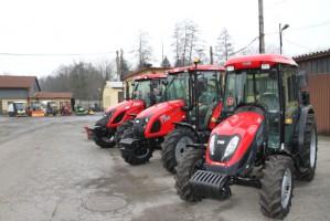 TYM T754 ciągnik rolniczy komunalny nowy