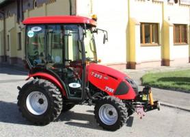 ciągnik rolniczy komunalny pomocniczy TYM T293 HST + kabina