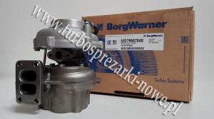 MAN - Turbosprężarka BorgWarner KKK 6.9 53279707026 / 53279