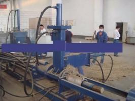 Brykieciarka biomasy bez rozdrabniania